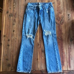 Abercrombie & Fitch Medium Wash Jeans Size 4S